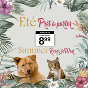 Shop specialized in fashion clothing and accessories for dog and cat